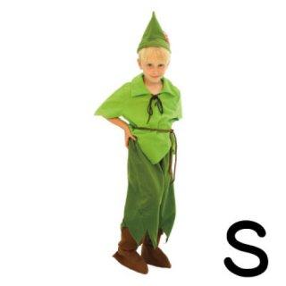 【子供用】コスチューム   仮装  チャイルド  S  ディズニー  ピーターパン 【Disney】