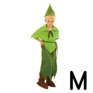 【子供用】コスチューム   仮装  チャイルド  M  ディズニー  ピーターパン 【Disney】