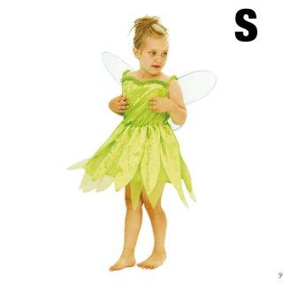 【子供用】コスチューム   仮装  衣装  チャイルド  S  ディズニー  ティンカーベル 【Disney】