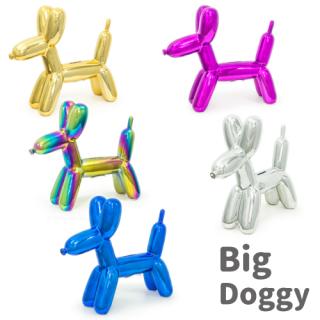 Balloon Money Bank ビッグ ドギー 貯金箱 【Big Doggy】【バルーンピギーバンク】