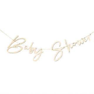 【Ginger Ray】レターバナー 木製 ベビーシャワー【Baby Shower】