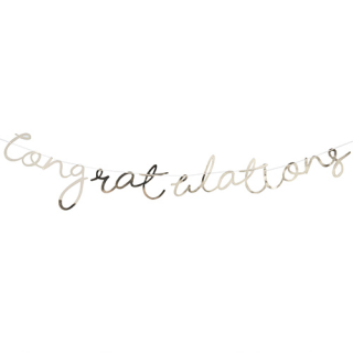 【Ginger Ray】レターバナー Congratulations ゴールド<img class='new_mark_img2' src='https://img.shop-pro.jp/img/new/icons1.gif' style='border:none;display:inline;margin:0px;padding:0px;width:auto;' />