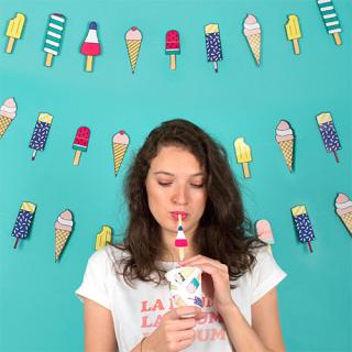 【MY LITTLE DAY】ガーランド アイスクリーム