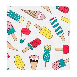 【MY LITTLE DAY】ペーパーナプキン アイスクリーム 20枚入