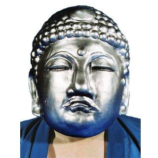 ラバーマスク 仏様 仏像 銀色【ハロウィン】