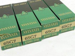 SYLVANIA 6SG7 4本 [17051]