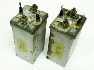 Western Electric 228A COND 2MFD 2本 [16711]