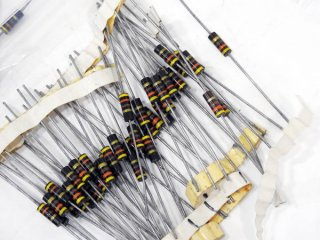 A&B FIXED RESISTORS 1/2WATTS 21種 1050本 [17504]