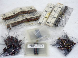 A&B FIXED RESISTORS 2WATTS 5種 250本 [17483]