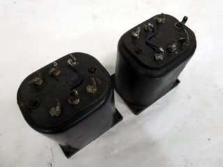 Western Electric BLACK COLOVR 127D OUTPUT TRANS 2個 [18071]