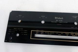 McIntosh MA-6100用ガラスパネル 1枚 [18979]