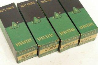 SYLVANIA 6SG7 4本 [19563]