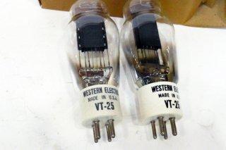 Western Electric VT-25 2本 [19566]