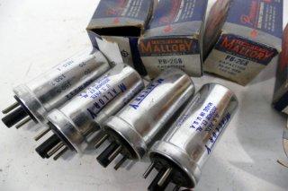 MALLORY PB-208 150V D.C 20-20MFD 4個 [19698]