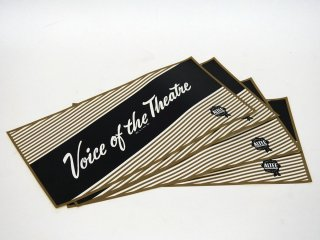 ALTEC Voice of the theatre シール 4枚セット [19875]