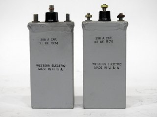 Western Electric 290A 3.5MFD 2個 [20221]