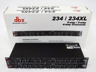 dbX 234XL チャンネルデバイダー 2台 [20496]