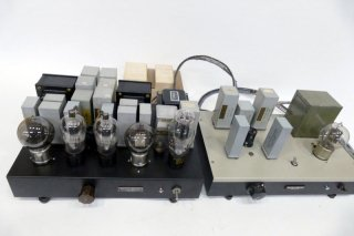 Western Electric WEVT2 STEREO PRE AMP + POWER AMP [20850]