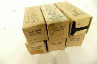 RCA 6AC7W 6本 [21066]