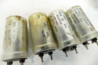 Western Electric KS-19827 L1 125MFD 350V 4個 保証外品 [21166]