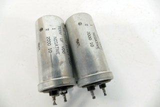 Western Electric KS-13687 2000MFD 10V 2個 保証外品 [21167]