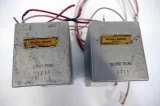 Western Electric 171A OUTPUT TRANS リプロ品 2個 [21346]