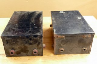 RCA ネットワーク用 鉄製キャビネット 2個 [21619]