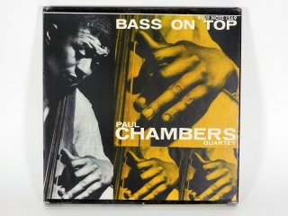 10号テープ 録音品 Blue Note PAUL CHAMBERS「BASS ON TOP」[21798]