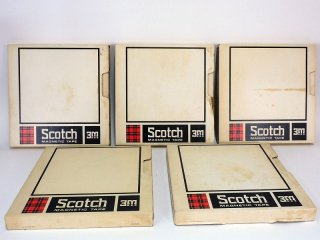 Scotch Magnetic Tape 10号 206-1/2 762R 5巻 [21810]