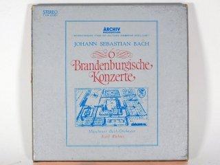 7号テープ ARCHIV PRODUKTION KARL RICHETER 「6 BRANDENBURGISCHE KONZERTE」1巻 保証外品 [21853]