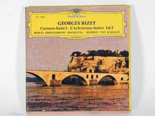 7号テープ Deatsche Grammophon GEORGES BIZET「CARMEN-SUITE1,L'ALESIENNE-SUITES 1&2」1巻 保証外品 [21854]