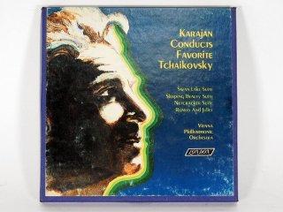 7号テープ LONDON/DECCA KARAJAN CONDUCTS「VIENNNA PHILHARMONIC ORCHESTRA」1巻 保証外品 [21858]