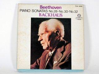 7号テープ LONDON/DECCA BEETHOVEN「PIANO SONATAS No.28,30,32」1巻 保証外品 [21860]
