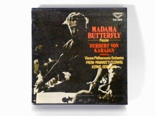 7号テープ LONDON/DECCA PUCCINI「MADAMA BUTTERFLY」2巻 保証外品 [21866]