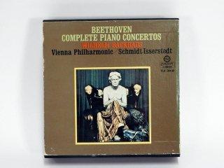 7号テープ LONDON/DECCA BEETHOVEN「COMPLETE PIANO CONCERTOS」2巻 保証外品 [21867]