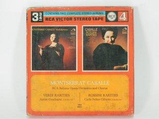 7号テープ RCA VICTOR MONTSERRAT CABALLE,Soprano 1巻 保証外品 [21916]