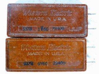 Western Electric 537B 29400P 2個 [22106]
