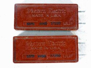 Western Electric 537B 17250P 2個 [22108]