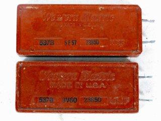 Western Electric 537B 23850P 2個 [22109]