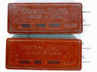 Western Electric 537B 22850P 2個 [22111]