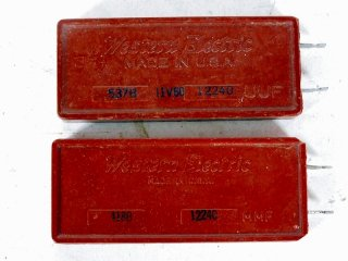 Western Electric 418B & 537B 12240P 各1個 [22112]