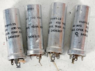 GI 2406207 450V 40MFD 4個 保証外品 [22120]