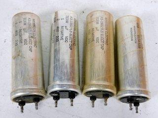 Western Electric KS-19827L5 200V 400MFD 4個 [22140]