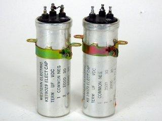 Western Electric KS-19029 30V 2000MFD×2 2個 [22186]