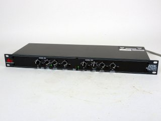 dbx 223XL チャンネルディバイダー 1台 [22240]