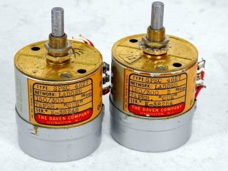 DAVEN SPEC 4627 150/ 300Ω 2個 保証外品 [22376]