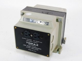 TOPAZ ELECTRONICS ULTRA-ISOLATOR 1KW 1台 保証外品 [22593]