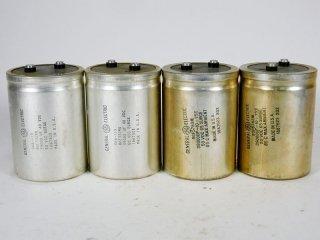GENERAL ELECTRIC 066-119 大型電解コンデンサー 4個 [22570]