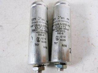 ITT 200V 6.5MFD 2個 保証外品 [22625]