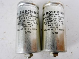BOSCH GERMANY 630V 8MFD 2個 保証外品 [22626]